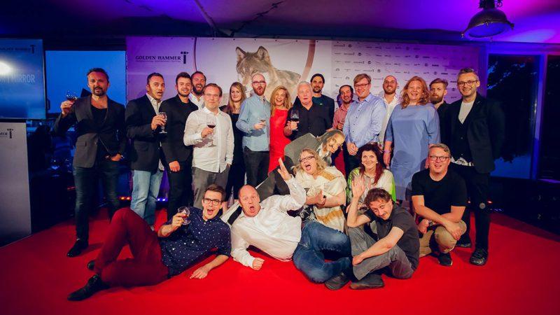 Jurie bei der Award-Gala