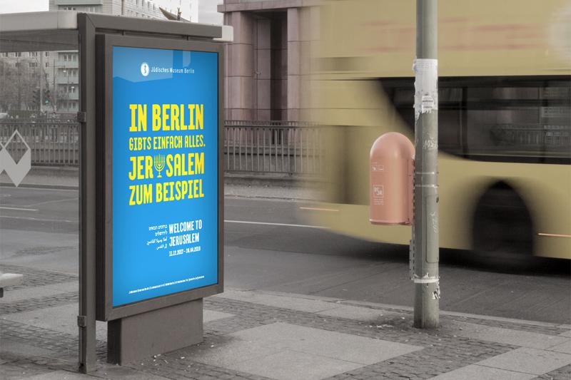 Kampagnenmotiv im Umfeld.