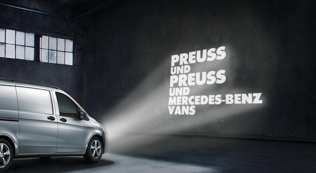 Preuss und Preuss und Mercedes-Benz Vans