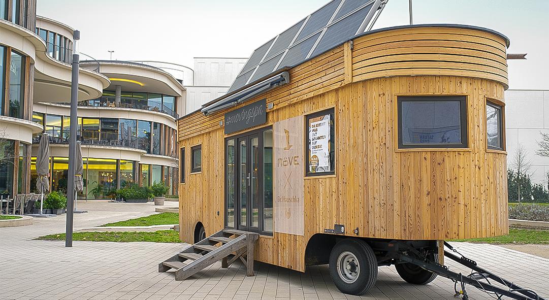 Das weltweit erste nachhaltige #MovingSpa.