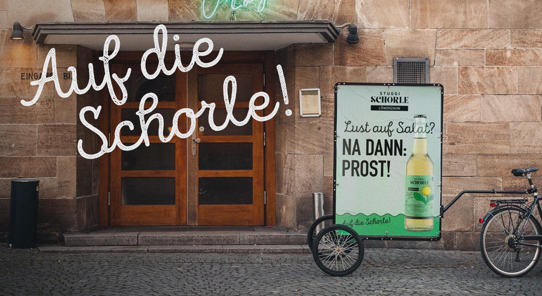 Stuggi Schorle.
